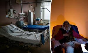 Märta Tollet Sjölund skriver om hennes kamp för att få vård i det elsanerade rummet på Sundsvalls sjukhus. I andra vårdsalar finns det alldeles för mycket strålning som gör henne ännu sjukare. Bild: Magnus Hjalmarson Neideman/TT / Gunnar Stattin