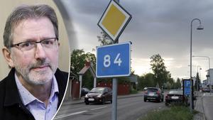 Region Gävleborg prioriterar den nationella planen och ostkustbanan, med en station vid sjukhuset i Gävle, därmed skjuts 84:ans genomfart framåt.
