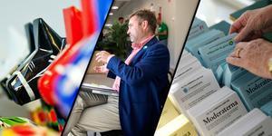 Centern och länsordförande Peter Helander har tagit greppet om Dalarna efter valets förhandlingar om makten i kommunerna. MONTAGE.
