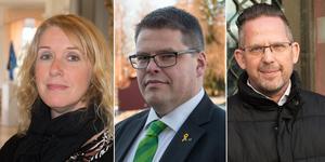 Anders Wigelsbo (C) är förvånad över Salas Bästas val att lämna allianssamarbetet, till skillnad från Ulrika Spårebo (S) och Magnus Edman (SD).