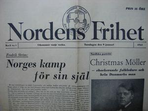 Nordens Frihet gavs ut av samfundet med samma namn.