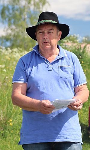 Göran Stigsson, en av initiativtagarna till träffen i Tranberg.