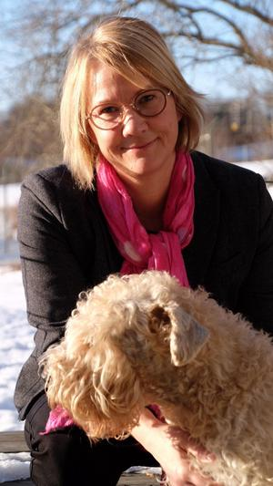 Kärleken förde  Karin Berglund till Västerås.