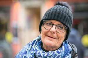 """Ing-Britt Nilsson från Husås säger så här om Sko Mårten-huset: """"Det har alltid stått här. Jag tycker att det är helt underbart""""."""