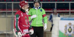 Jonas Kandell under VM 2018.