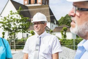 Näringslivschef Peter Eriksson tycker om när det byggs i kommunen.