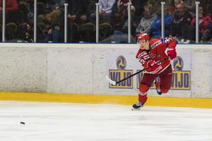 Victor Berglund ser fram emot kommande säsong med Modo Hockey. Bild: Jonas Forsberg/Bildbyrån