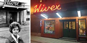 Man brukar säga att Lill-Babs upptäcktes på Wivex i Sundsvall. Krönikören tycker att man borde hedra henne med en minnesplatta. Bild: Arkiv/Privat