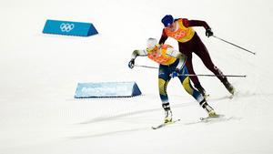 Ebba Andersson imponerade på nytt och stod för en finfin tredjesträcka när Sverige tog OS-silver. Bild: Joel Marklund/Bildbyrån
