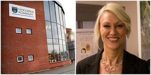 Frida Nilsson vill inte prata om varför mellanchefen inte längre jobbar på Nykvarns kommun.