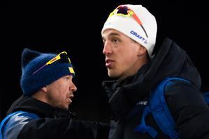 Calle Halfvarsson var inte nöjd med sitt OS. Bild: Carl Sandin/Bildbyrån