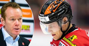 Fem raka segrar, men mot HV71 tog det stopp. Niklas Eriksson har sett en trend de senaste tre matcherna, som han vill ha en ändring på. Bild: Andreas Sandström/Bildbyrån