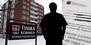 Mannen var nära att få sparken av Timrå kommun, men varslet drogs tillbaka.