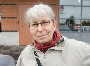 Kerstin Frid-Ullerstam, 66, pensionär, Sundsvall.