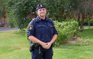 Marie-Louise Toris är polisinsatschef.
