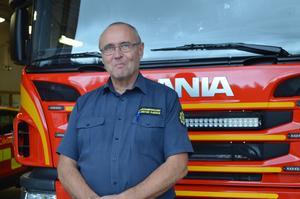 Räddningschef Krister Ejeros för Leksands brandkår hoppas på ett Norra Dalarnas Brandförbund från och med januari 2019.