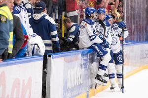 Flera av spelarna i Leksand har utgående kontrakt – vem bygger laget inför 2018/19 är ännu inte helt kalrt. Foto: Daniel Eriksson / BILDBYRÅN