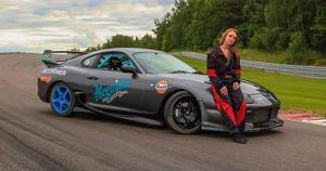 Den här bilen byggde Jennie Andersson 2014 och utsågs då också till Årets kvinnliga bilbyggare.