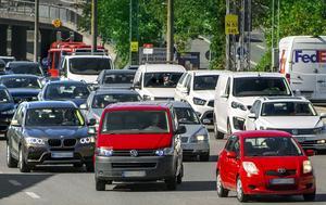 Biltrafik, bilköFoto: Claudio Bresciani / TT /