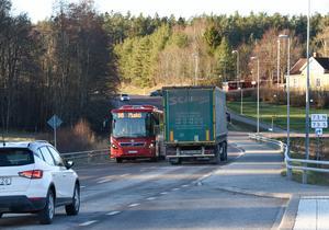 Väg 225 kommer att påverkas av Norviks lastbilstrafik.