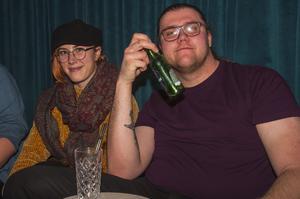 Feministfest. Jens och Sara. Foto: Fabian Zeidlitz