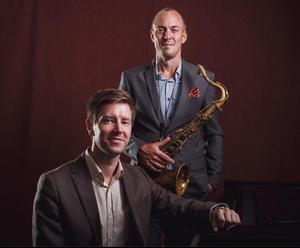 Filip Ekestubbe och Klas Toresson kommer till Västerås konserthus på tisdagen. Foto: Pressbild