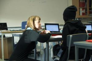 Att ställa olika krav på eleverna tror Lena Eriksson är nödvändigt för att eleverna ska utvecklas.