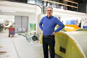 Thomas Lugnet, VD på Ockelbo Plastindustrier AB.
