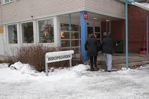 Biskopsgården är ett av kommunens så kallade särskilda boenden för äldre.