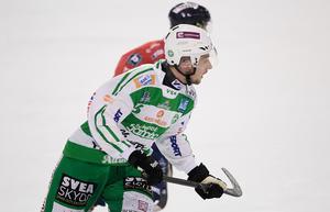 Simon Jansson var den i VSK som försökte mest och bäst, men det räckte inte långt borta mot Edsbyn