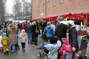 Julmarknad Skultuna.
