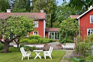 Nummer 7. Villan i Skultuna.Foto: PAX Fastighetsmäkleri