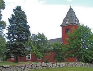 Grythyttans kyrka uppförd 1632. Foto: Larske