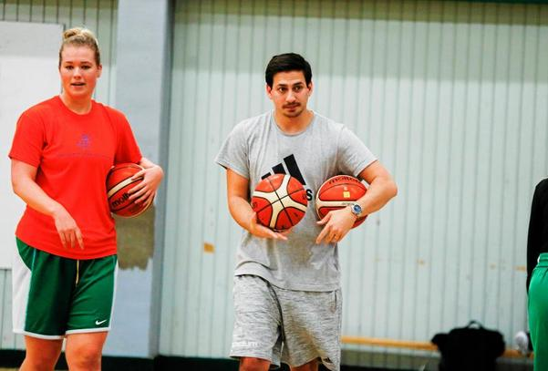 Viktor Bengtsson och Telge Basket förbereder sig inför en ny säsong