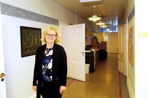 Laxå kommun har en soliditet på 37 procent, och ekonomichef Anna Håkansson hoppas att det går att bygga vidare på den.