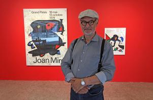 Snyggt avslut. Utställningen med verk av Joan Miró blir Jordi Arkös sista nerslag som konstkonsulent för Dalarna. 31 maj går han i pension.