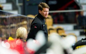 Thomas Paananen gör sin första säsong som hockeyallsvensk tränare. På lördag kan du träffa honom på Allstar i Västerås. Foto: Oliver Åbonde