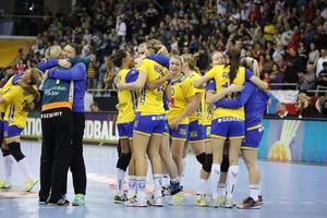 VM-semifinal väntar för första gången för det svenska landslaget i handboll. Bild: TT