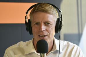 Miljöpartiets språkrör, Sveriges vice finansminister Per Bolund.