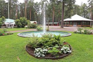 Krokbornsparken i Hällefors.