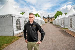Fredrik Starck är projektledare för Strömsholmsdagarna när tävlingarna firar 100 år i år. Arkivbild.