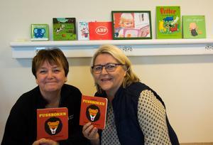 Ulla Forsström och Eivor Schultz.
