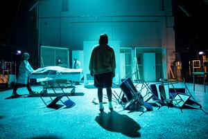 """""""Blue air"""" på Örebro länsteater får fin kritik. Foto: Kicki Nilsson/ICON Photography"""