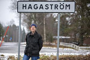 Erik Holmestig och hans fru valde Hagaström för det lantliga läget.