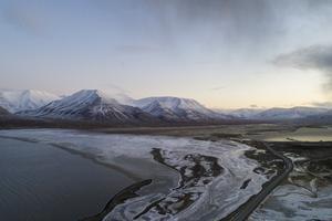 Naturen är spektakulär på Svalbard. Foto: TT