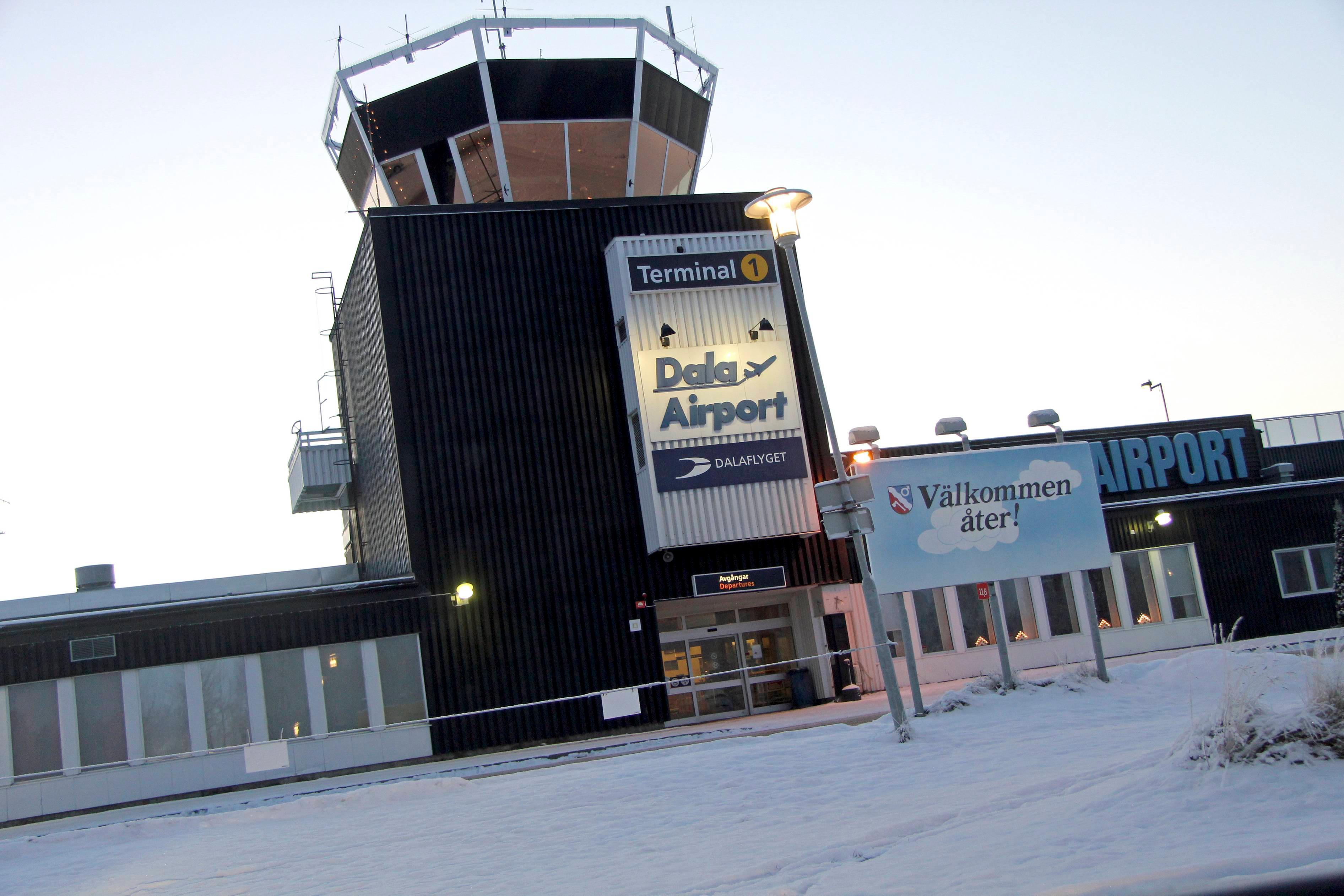 Dala Airport påverkas inte av den pågående SAS-strejken. Arkivbild. Foto: Boo Ericsson