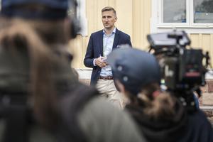 Carl Nyberg, vd för Neste, höll ett tal om vikten att skära ner på våra utsläpp av växthusgaser.