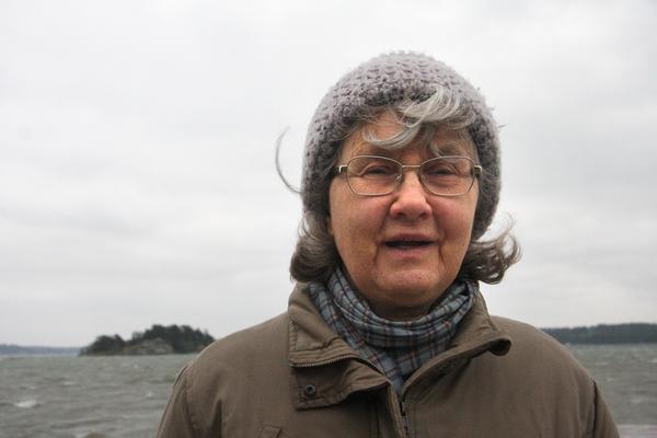 Eva Hultman. Foto: Solveig S Thörnblom