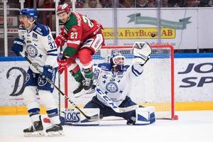 Leksands IF föll mot Mora IK i direktkvalet till SHL. Foto: Daniel Eriksson/Bildbyrån