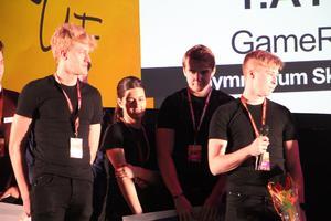 Game Room UF från Gymnasium Skövde Västerhöjd vann kategorin Årets tjänst.